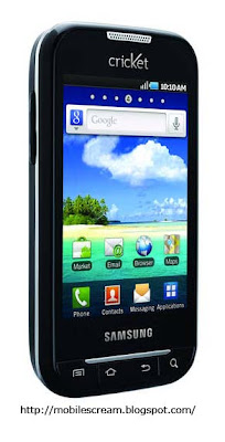 Samsung Indulge™ (Cricket) Android Smartphone