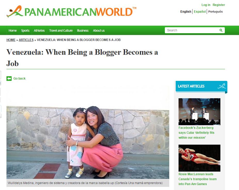 Mi entrevista en ParamericanWorld