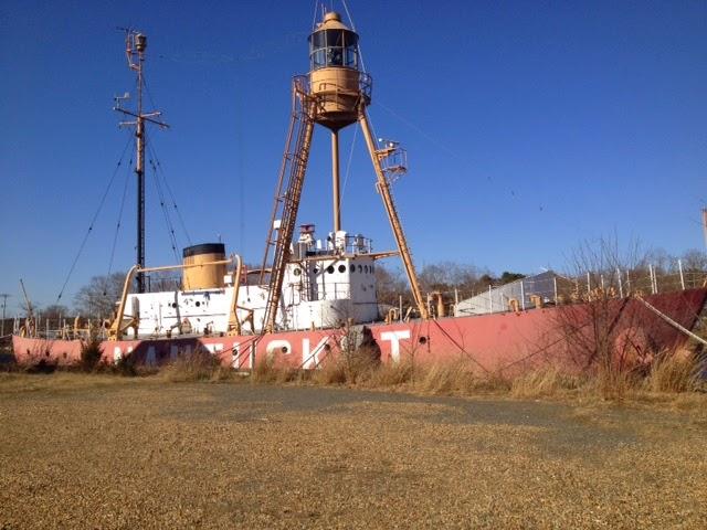 Lost Nantucket Lightship