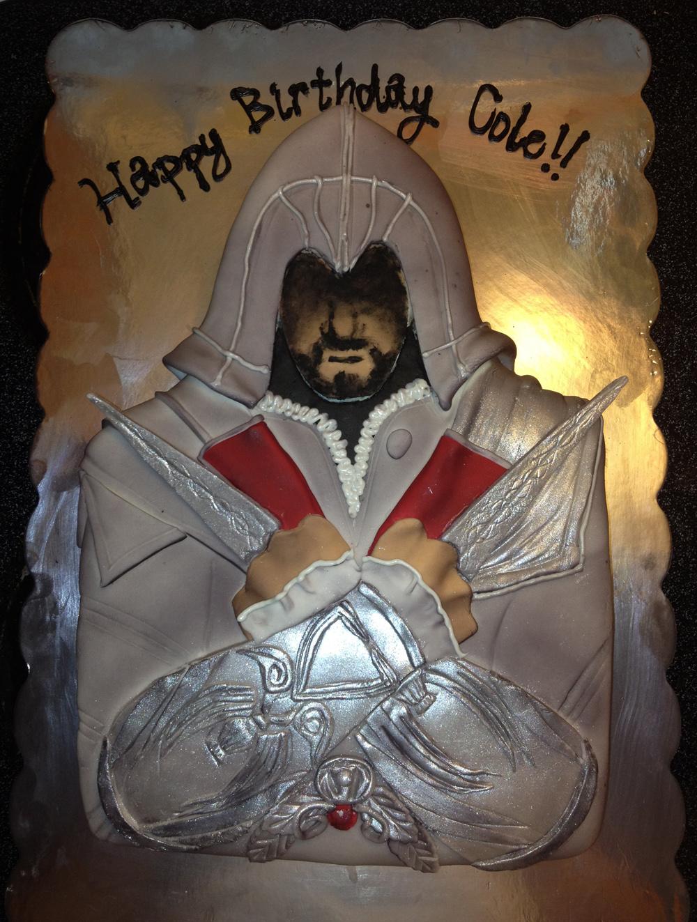 Cake Design Assassin S Creed : 1000px