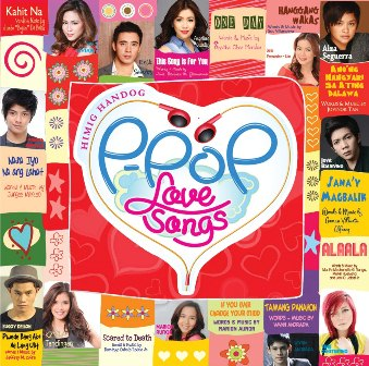 Himig Handog P-Pop Love Songs Album Cover