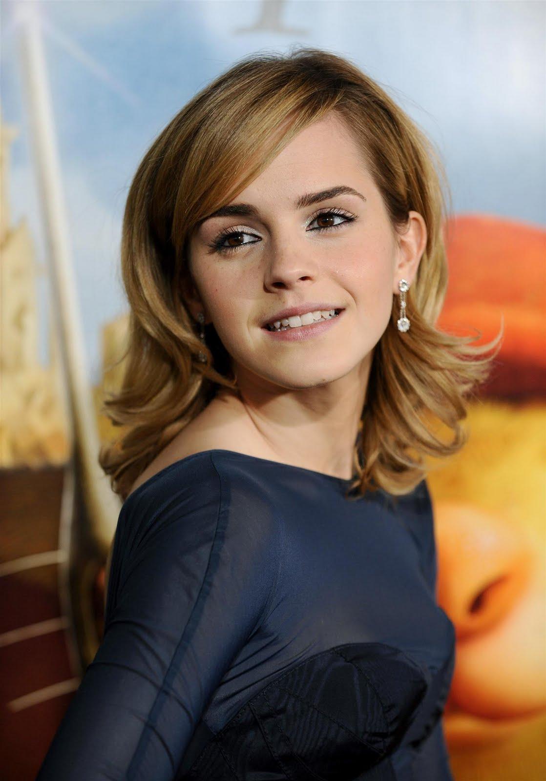 Emma Watson Straight Hairstyles
