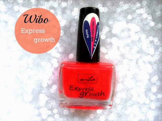 Wibo, Express Growth ( Czerwony lakier do paznokci)