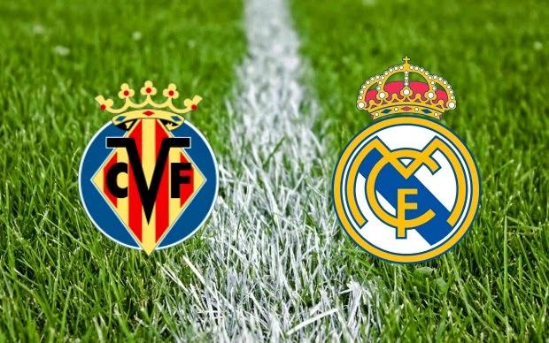 اهداف مباراة ريال مدريد وفياريال 1-1