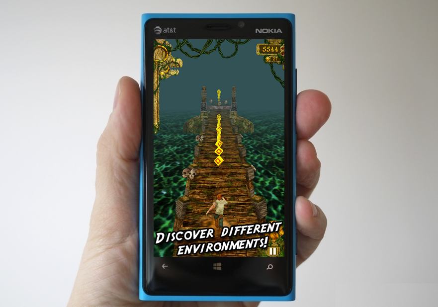 Temple Run Released for Windows Phone - Download Now !