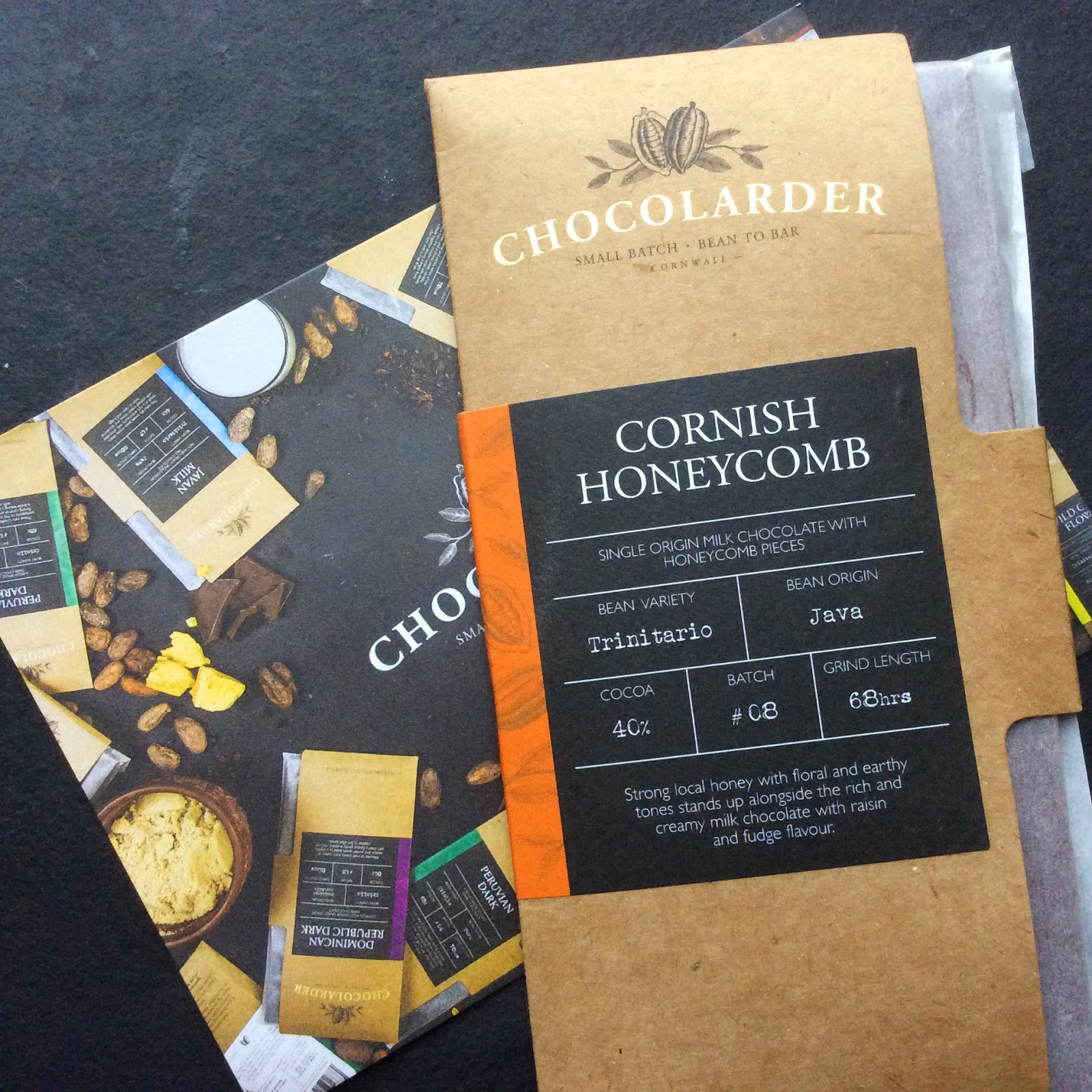 Cornish Honeycomb, Trinitario, Java