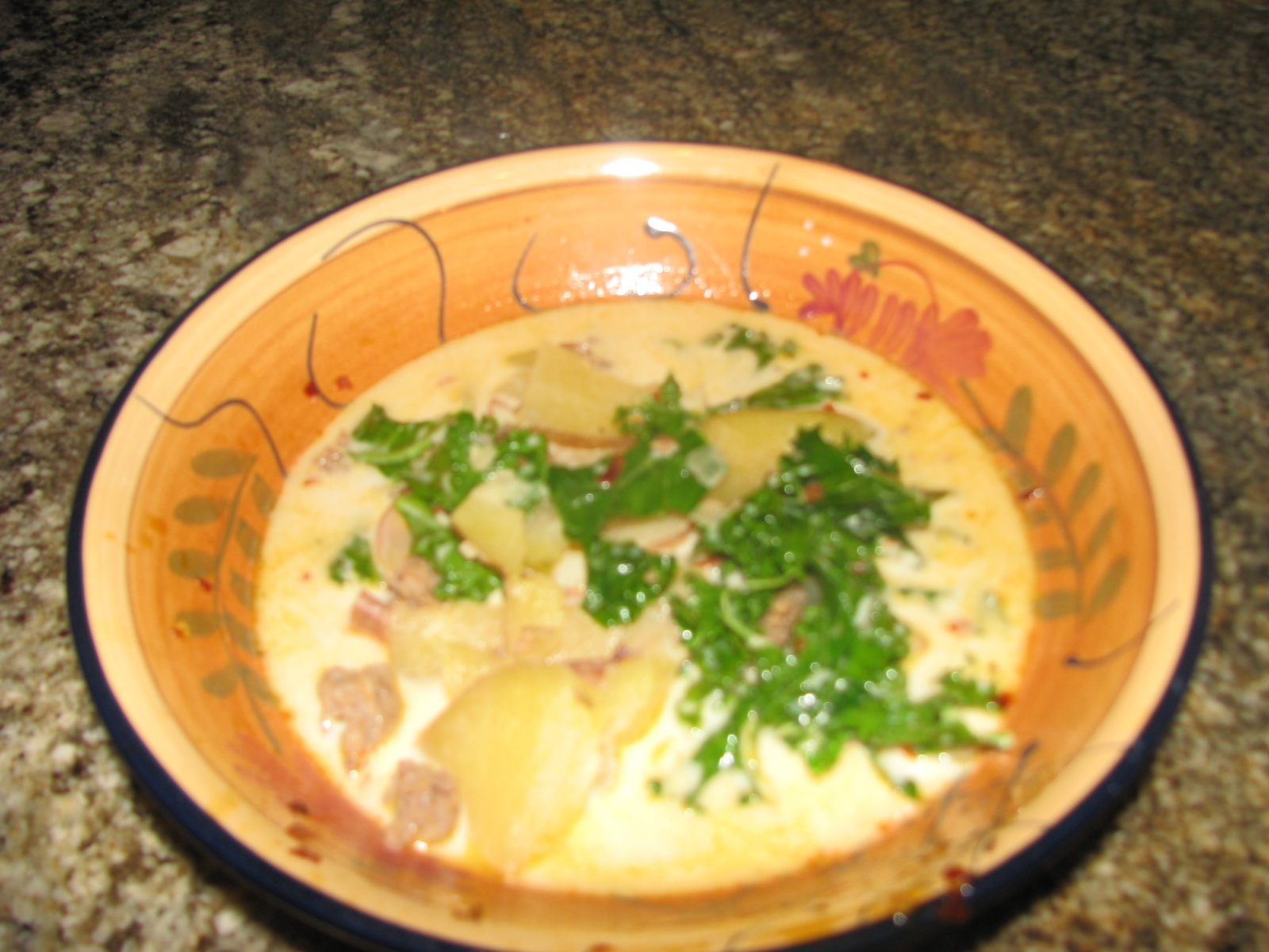 Olive Garden 39 S Zuppa Toscana Soup Italian Sausage And Potato Soup Dee Dee Loves Recipes