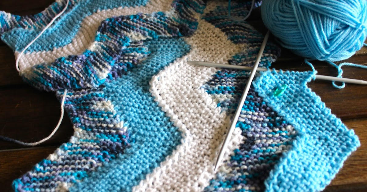 Keeping Mama Crafting: Knitting the Ten Stitch Zig-Zag Blanket