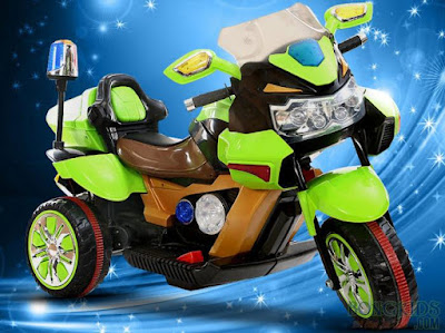 Xe máy điện trẻ em 5388 - Xe cao cấp 2 động cơ