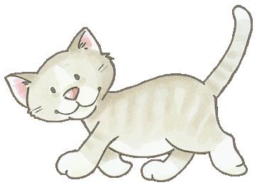 Imagenes de gatos dibujos a color - Dibujos de gatos pintados ...