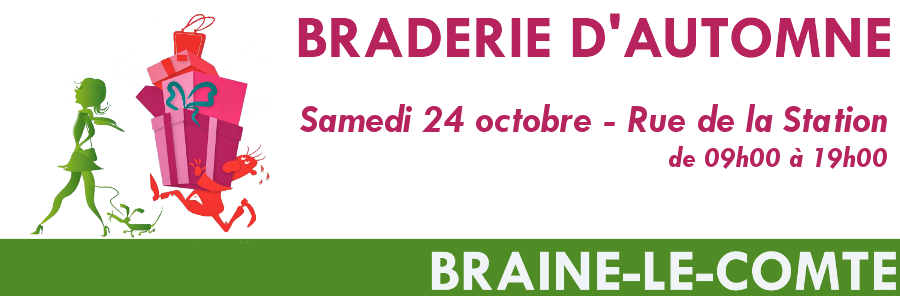 Braderie d'automne de Braine-le-Comte