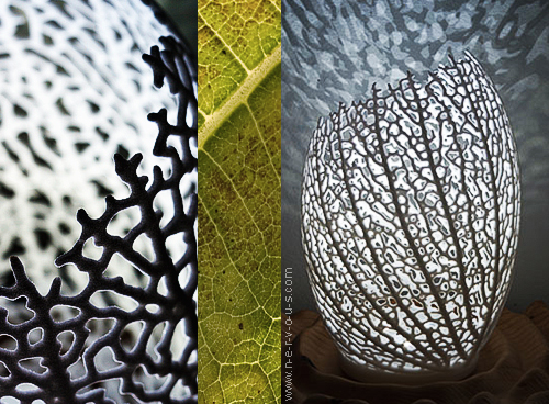 Biomimetic design: Hyphae Lamp by Nervous System