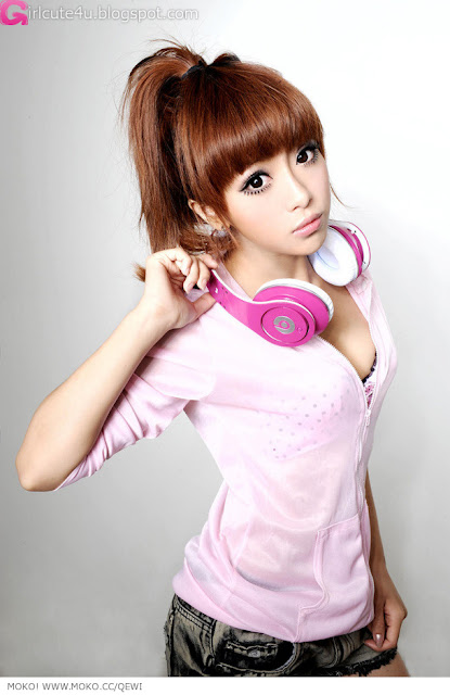 2 Zhang Kaiting - DJ Lady Q-Kate-very cute asian girl-girlcute4u.blogspot.com