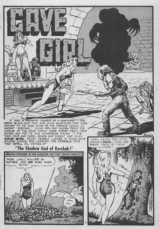 comic bob girl: