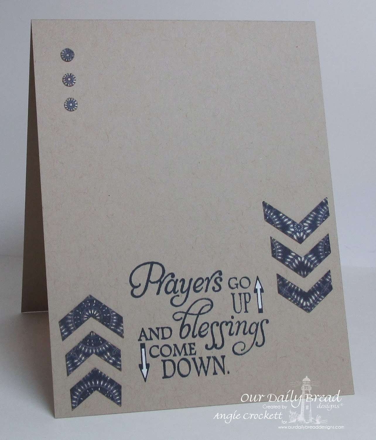 ODBD Blessings, Card Designer Angie Crockett