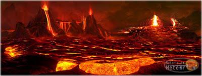 vulcões de Io - oceano de magma e oceano de água