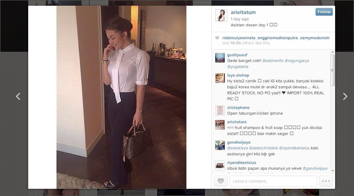 Instagram Ariel Tatum