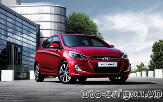 Xe Hyundai Accent Hatchback 5 cua 2014 1 Xe Hyundai Accent Hatchback 5 cửa 2014