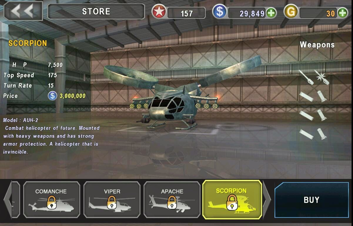 download gunship battle apk