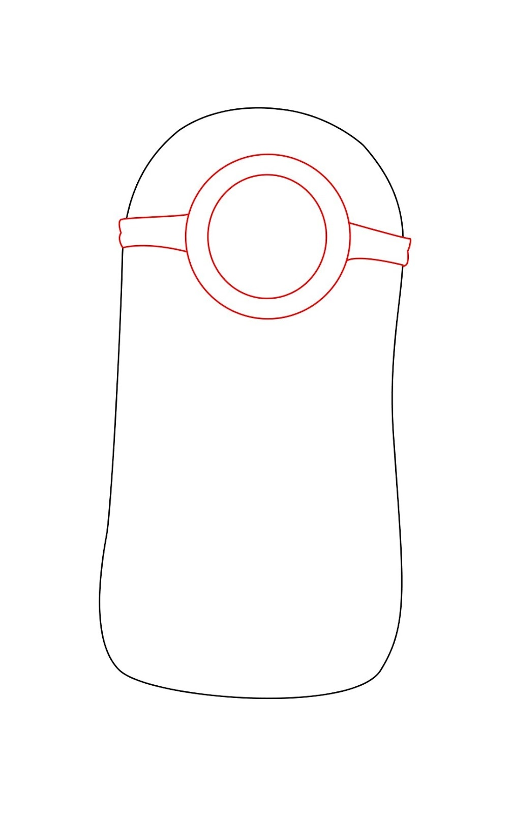 How To Draw Despicable Me Minon Step 2 Despicable Me Minions Drawing Step By Step