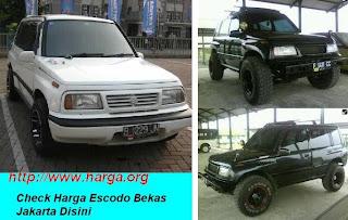 Harga Mobil Bekas Suzuki Escudo Jakarta 2013