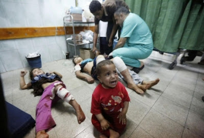 """Menyedihkan, sekitar 1000 anak Palestina menderita cacat permanen akibat agresi """"Israel"""" 2014"""