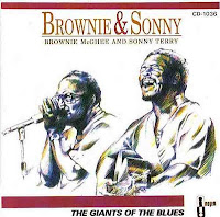 capa do DC Brownie and Sonny - The Giants of the Blues