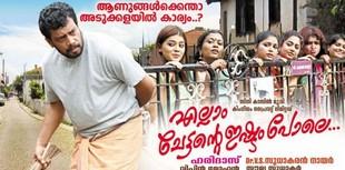 Ellam Chettante Ishtam Pole (2015) Malayalam Movie DVDRip 350MB
