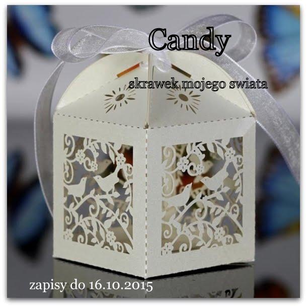 Candy na blogu Skrawki mojego świata
