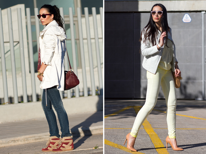 Streetstyle estsilo deportivo y urbano chic femenino blogger española de moda y belleza