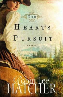 book review of The Heart's Pursuit by Robin Lee Hatcher (Zondervan) by papertapepins