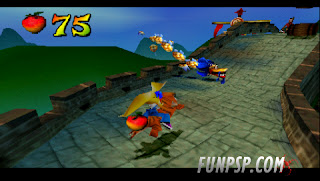 Crash Bandicoot 3   Warped [PSP] [DF]