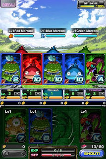 Screenshots of the Dragon ace for Android tablet, phone.