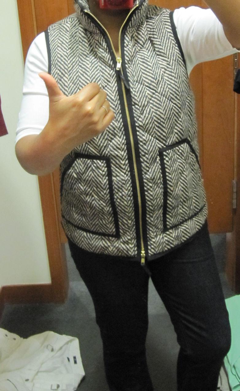 j crew excursion quilted vest in herringbone Archives - Gigi's ...