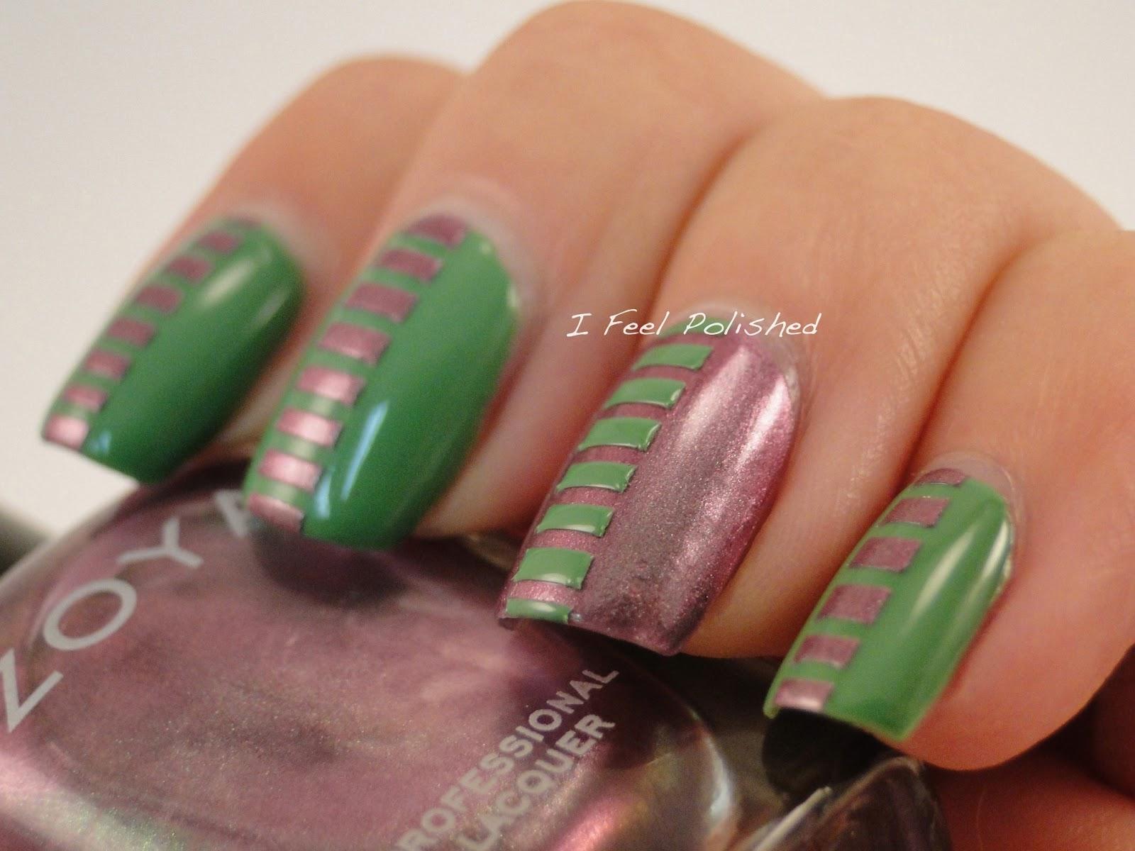 I Feel Polished!: Geometric Nails