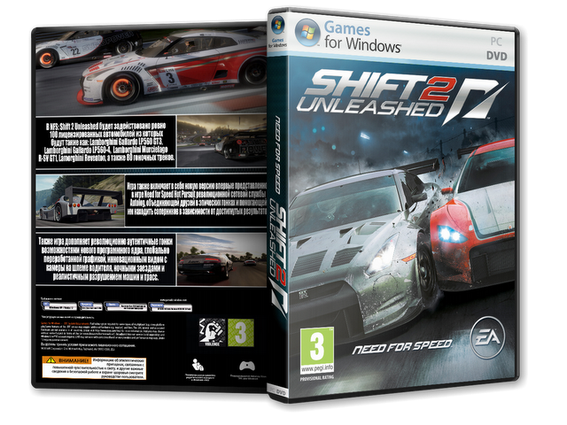 Need For Speed Shift 2 Unleashed PC Game Free Torrent Download