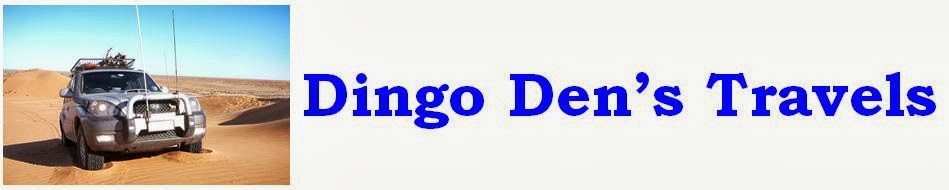 Dingo Den's Travels