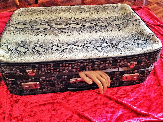 vintage, suitcase, a Porta Verde