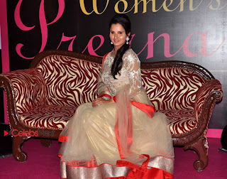 Sania Mirza Pictures in Beautiful Dress at Prerna Womens Award  0005