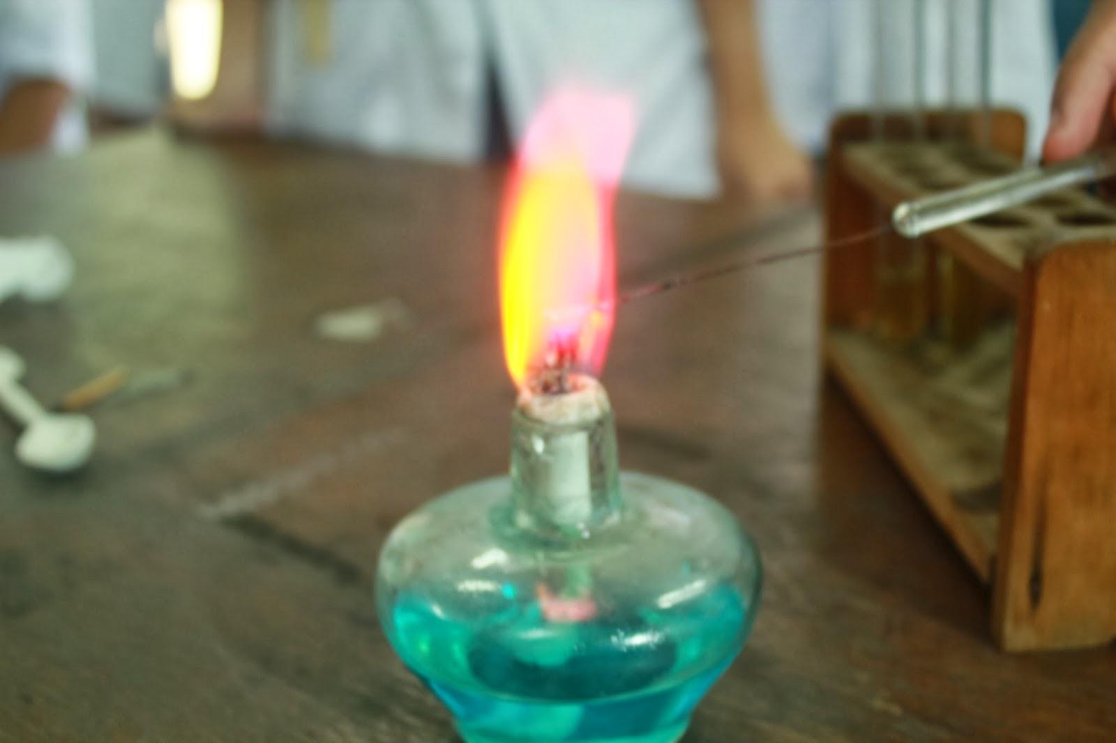 Kimia Reaksi Nyala Logam Alkali Dan Alkali Tanah