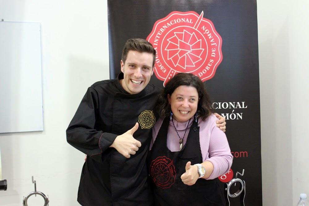 Foto Oficial: Jesús Serrano, Maestro Jamonero de EICJ