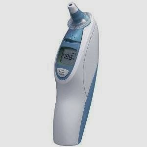 Braun Thermoscan Ear Thermometer with ExacTemp Technology.