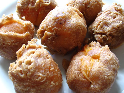 Apricot Rum Fritters