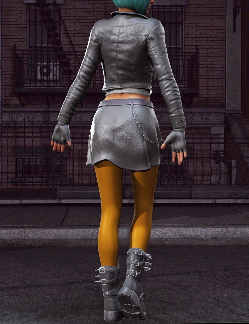3d Models Art Zone - Anarchy for Genesis 2 Female(s)