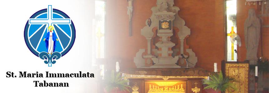 Paroki St. Maria Immaculata - Tabanan-Bali