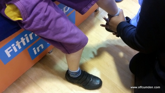 Brantano expert shoe fitting