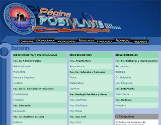 Resultados ingresantes UNSA 2014-III Universidad San Agustín Arequipa 23 de Marzo