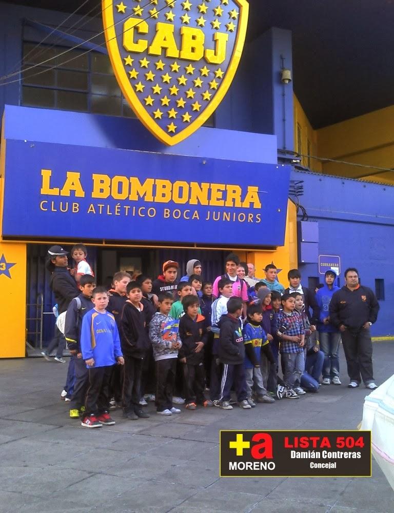 Prensa dami n contreras chicos de francisco lvarez for Puerta 2 cancha de boca