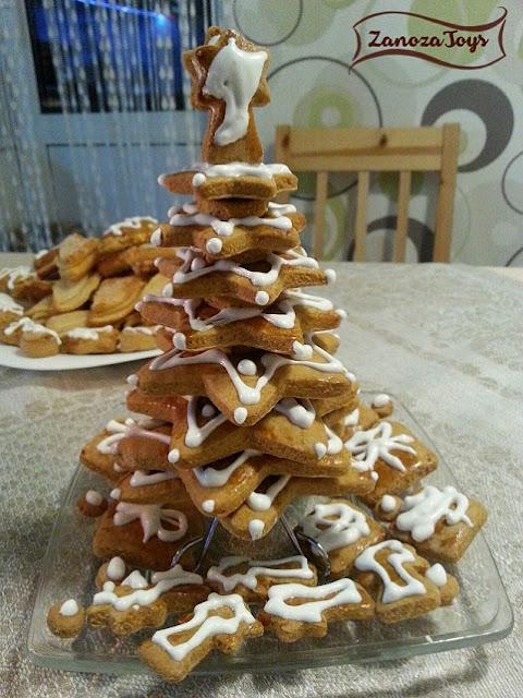 Елочка из печенья