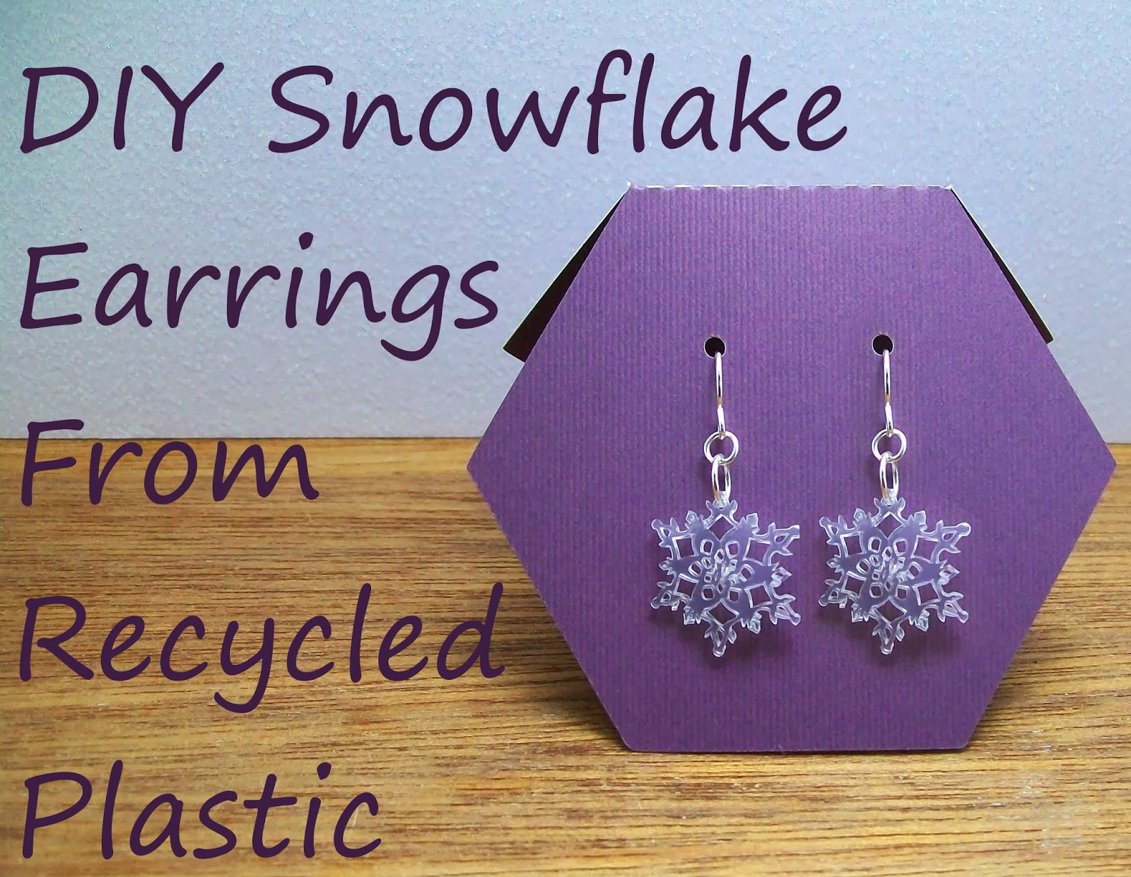how to make shrinky dink earrings